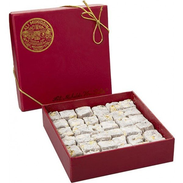 250gr Turkish Delight with Extra Pistachio