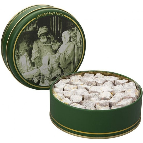 500gr Turkish Delight with Extra Pistachio