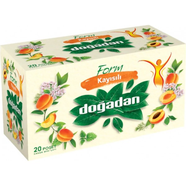 Form Mixed Herbal Tea with Apricot, Dogadan
