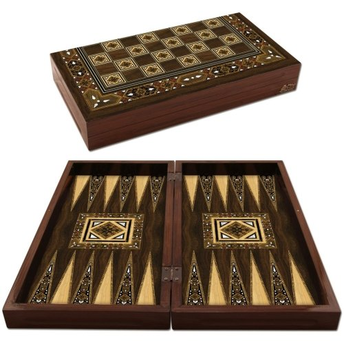 Antique Mosaic Backgammon