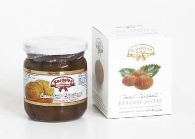 Candied Chestnuts Jar (250g.) - Grand Turkish Bazaar