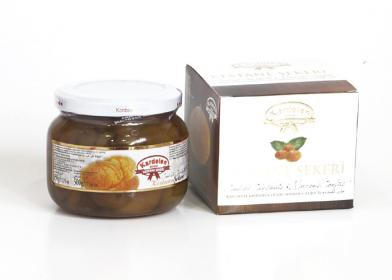 Candied Chestnuts Jar (500g.) - Grand Turkish Bazaar