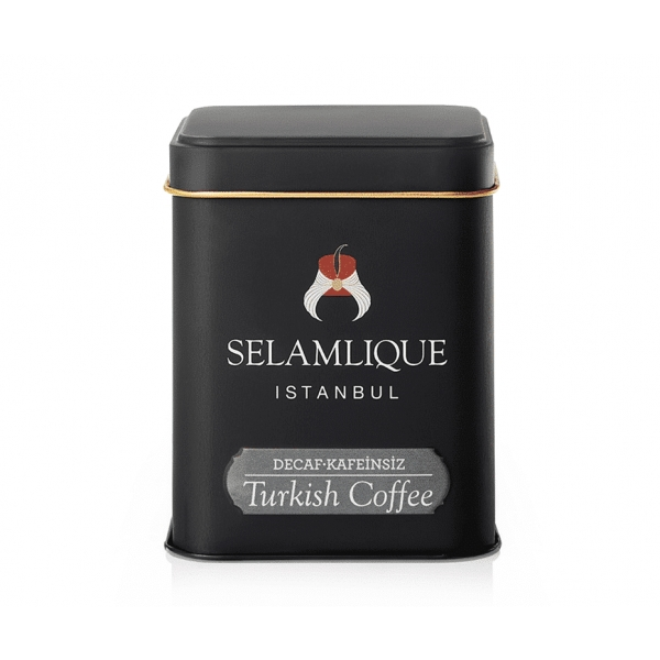 Decaf Turkish Coffee Box (125g) - Grand Turkish Bazaar