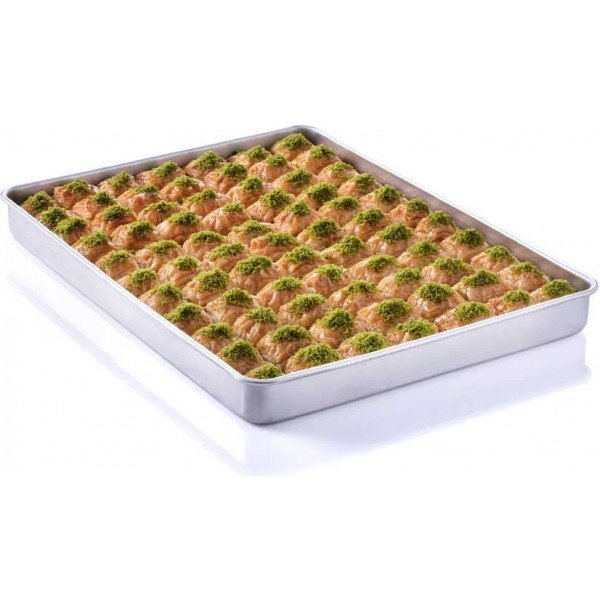 Dry Baklava with Pistachio Tray