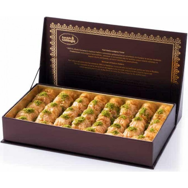 Dry Long Lasting Baklava in gift box