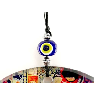 Fusion Evil Eye - Blown Glass - 10 - Grand Turkish Bazaar-3