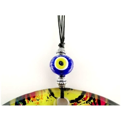 Fusion Evil Eye - Blown Glass - 15 - Grand Turkish Bazaar-3