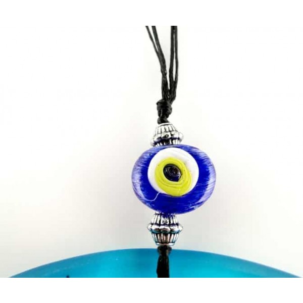 Fusion Evil Eye - Blown Glass - 6 - Grand Turkish Bazaar-3