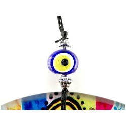 Fusion Evil Eye - Blown Glass - 7 - Grand Turkish Bazaar-3