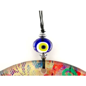 Fusion Evil Eye - Blown Glass - 8 - Grand Turkish Bazaar-3