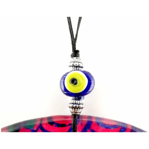 Fusion Evil Eye - Blown Glass - 9 - Grand Turkish Bazaar-3