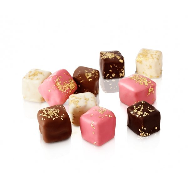 Gold Sprinkled Mixed Turkish Delight (250g) - Grand Turkish Bazaar-4