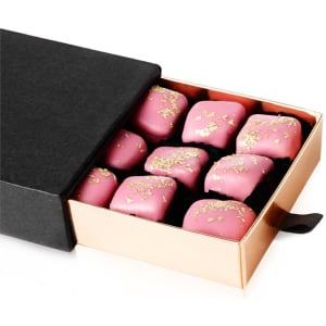 Gold Sprinkled Rose Turkish Delight (190g) - Grand Turkish Bazaar-4