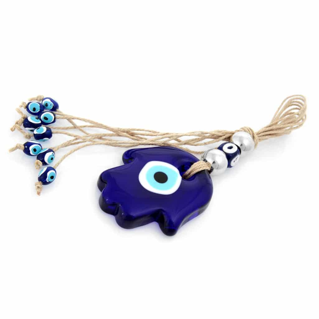 Hamsa hand glass evil eye wall decor grand turkish bazaar hamsa hand glass evil eye wall decor grand turkish bazaar 3 amipublicfo Gallery