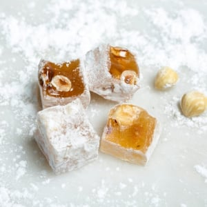 Hazelnut Turkish Delight