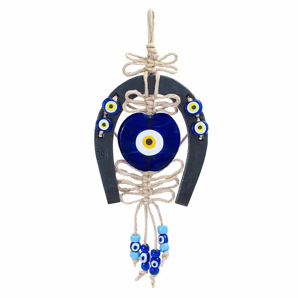 Evil eye wall decor handmade grand turkish bazaar horseshoe evil eye wall decor handmade grand turkish bazaar amipublicfo Gallery