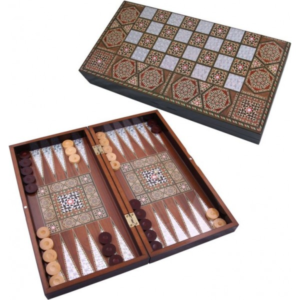 Massive Handmade Backgammon