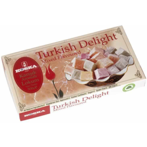 Mixed Flavoured Turkish Delight (500 Gr.) - Grand Turkish Bazaar