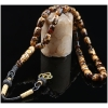 Mosaic Amber Prayer Beads