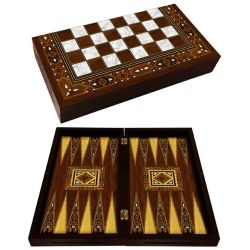 Mosaico a mano Backgammon