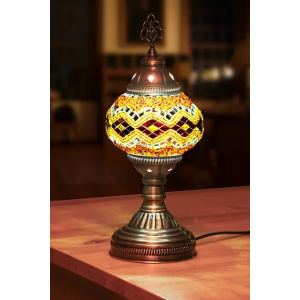 Buy turkish mosaic lamps grand turkish bazaar istanbul mosaic table lamps aloadofball Images