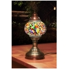 rainbow mosaic table lamp