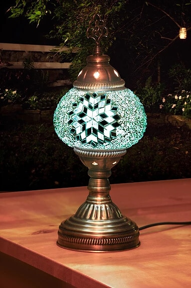 Buy mosaic table lamp small no30 grand bazaar istanbul online mosaic table lamp aloadofball Image collections