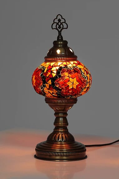Buy mosaic table lamp small no4 grand bazaar istanbul online mosaic table lamp aloadofball Image collections