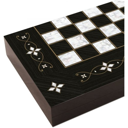 Black Handmade Backgammon