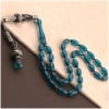 Oil Blue Amber Prayer Beads