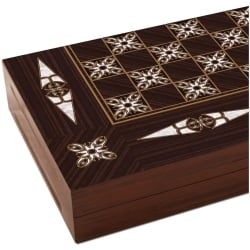 Pearl Shaped Handmade Backgammon