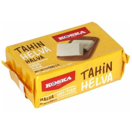 Plain Halva(500 Gr。) -  Grand Turkish Bazaar