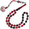 Red Amber Prayer Beads