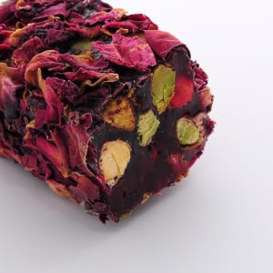 Rose Leaf Covered Turkish Delight (1000gr.) - Grand Turkish Bazaar-3