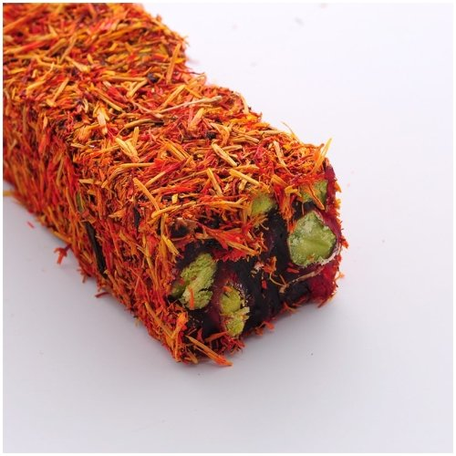 Turkish Delight Saffron Covered (250gr.) - Grand Turkish Bazaar-3