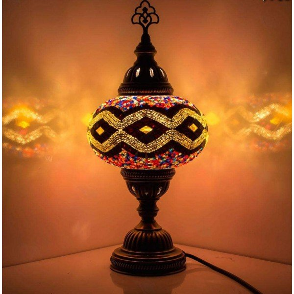 Mosaic Table Lamp, No1