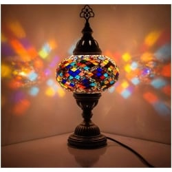 Mosaic Table Lamp, No3
