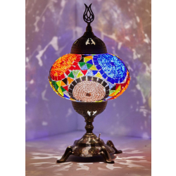 Mosaic Table Lamp, No4