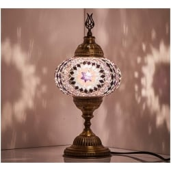Mosaic Table Lamp, No5
