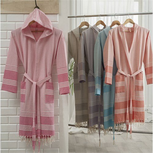 Traditional Handmade Elanora Pastamal Bathrobe (Pashtamal