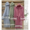 传统的Pastamal Bathrobe(Pashtamal