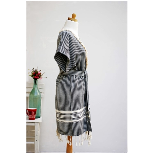 Traditional Pastamal Bathrobe Turkish Towel