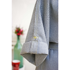 Traditional Pique Bathrobe Turkish Towel