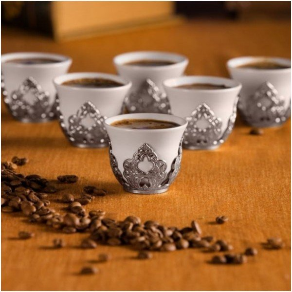 Turkish Coffe Set for Six
