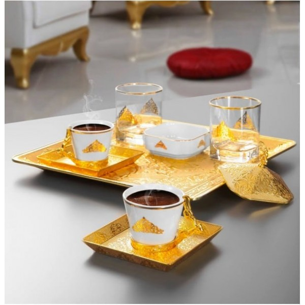 Turkish Coffe Set for Two
