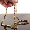 Wave Amber Prayer Beads