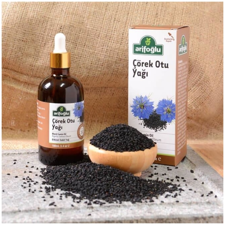 Pure Black Cumin Oil, Cold Press