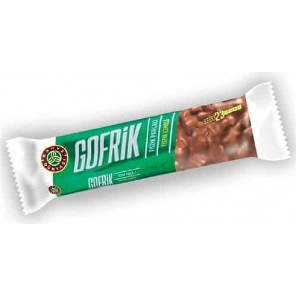 Gofrik Milk Chocolate with Pistachio