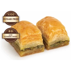 sugar free baklava with pistachio