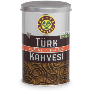 Kahve Dunyasi Dark Roasted Turkish Coffee